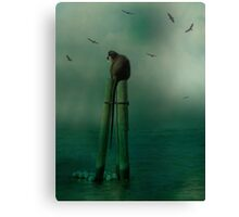 In The Ocean Mist Canvas Print