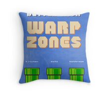 Life would be better with... Warp Zones! Throw Pillow