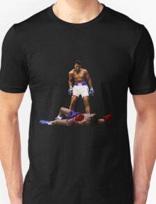 """Wake Up"" Muhammad Ali, VS Liston, Earth Fists T-Shirt"