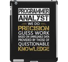Programmer Analyst iPad Case/Skin