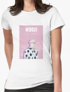 Seventeen - Pink Woozi Womens Fitted T-Shirt