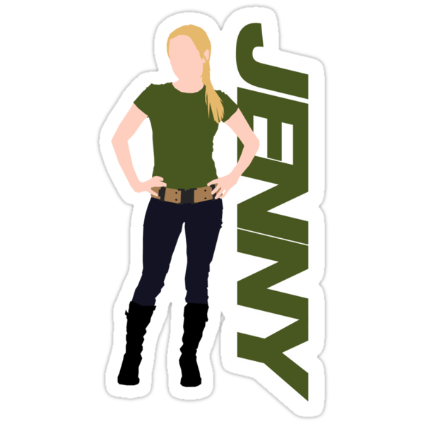 JENNY. (generated anomaly) just Jenny. by ideedido