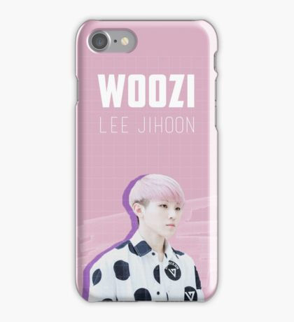 Seventeen - Pink Woozi iPhone Case/Skin