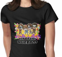 The Musketeers Day of the Death Womens Fitted T-Shirt