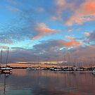Sunrise at Scarborough Boat Harbour. Brisbane, Queensland, Australia. (2) by Ralph de Zilva