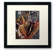 Self-Portrait, Free to Be Framed Print