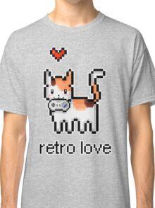 8 bit retro kitty Classic T-Shirt