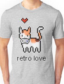 8 bit retro kitty Unisex T-Shirt