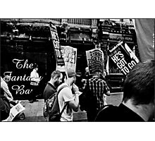 Protest Photographic Print