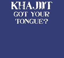 Khajiit 2 White for low necked Tank Top