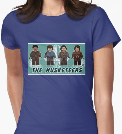 The Musketeers Womens Fitted T-Shirt