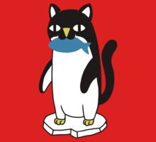Penguin Cat One Piece - Short Sleeve