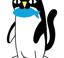 Penguin Cat by obinsun