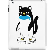 Penguin Cat iPad Case/Skin