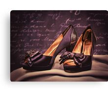 Sparkle and style! Canvas Print
