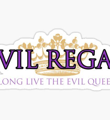 Evil Regal (2) Sticker