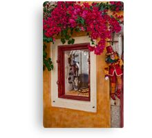 Oia Boutique Canvas Print