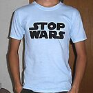 Stop Wars t-shirt by Leoncio
