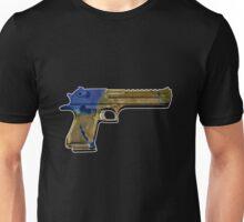 """""""Israeli .50 caliber desert eagle"""" Unisex T-Shirt"""