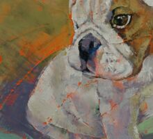 Bulldog Puppy Sticker