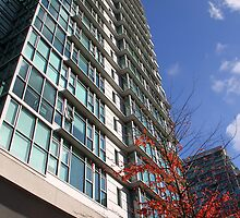 High Rise, Downtown Vancouver by Carole-Anne
