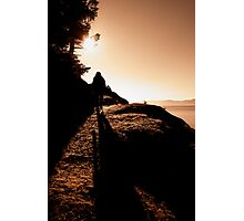 Up St John Point Photographic Print