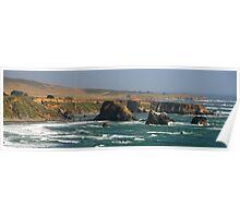 Californian Coast, San Simeon State Park Poster