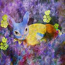 Easter Bunny Chill'n  by Sherryll  Johnson