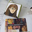 Self Portrait 4 x4 Project by Donna Huntriss