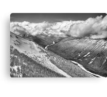 Cascade Mountains from Crystal Moutain Canvas Print