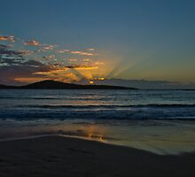 Sunrise at Fingal Bay NSW by Jenny Norris