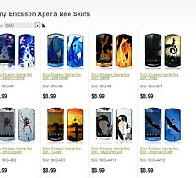 Buy Sony Xperia Neo Skins for your cell phone by bbrij07h