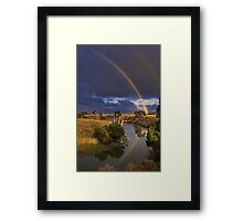 """Reflections of The Promise"" Framed Print"
