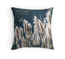 Swimming in the warmth of the sun Throw Pillow