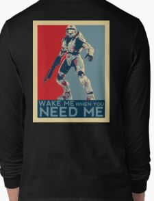 Halo 3 - Wake Me When You Need Me Long Sleeve T-Shirt