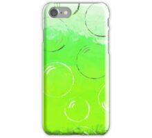 Bubbles of Energy ~ Neon Green iPhone Case/Skin