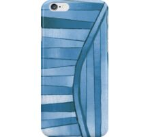 Color Wave Blues iPhone Case/Skin