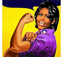 Recovery.gov Michelle Obama as Rosie The Riveter by O O