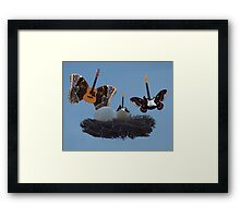The Birth Of Eric The Guitar Framed Print