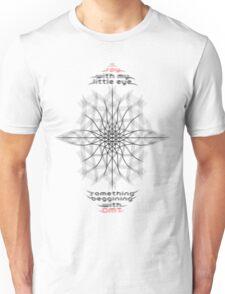 I spy with my little eye something beginning with DMT Unisex T-Shirt