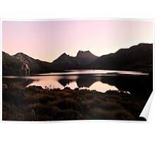 Serenity lake, Cradle Mountain Tasmania Poster