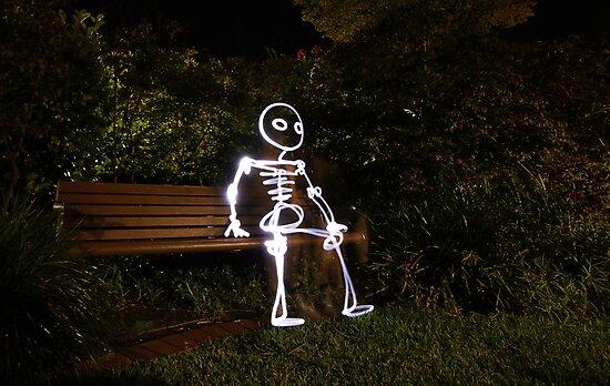 park bench by Josh Mu
