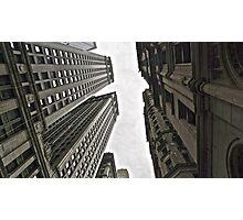 In-between skyscrapers Photographic Print