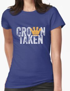 Crown Taken Womens Fitted T-Shirt