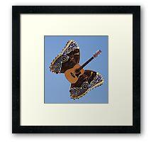 Air Guitar Framed Print