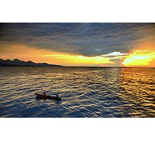 Sunset.Lake Tanganyika Photographic Print