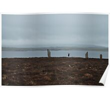 The Ring of Brogar, Mainland, Orkney Poster