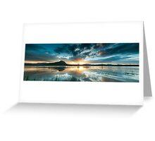 Lake Moogerah Sunset Greeting Card