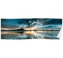 Lake Moogerah Sunset Poster
