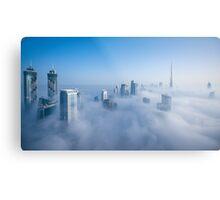 Cloud City Metal Print
